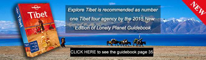 Tibet travel company recommended by Lonely Planet Guidebook