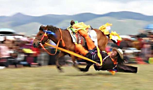 ETG7-11 days Lithang Horse Racing Group Tour in 2020
