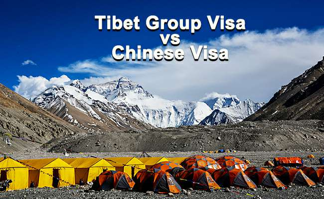 Tibet Group Visa and Chinese visa by Explore Tibet