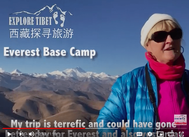 Tibet Small Group Tour's feedback for Explore Tibet in June 2019