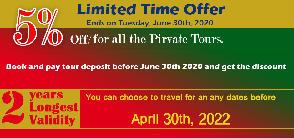 Tibet tour discount in 2020